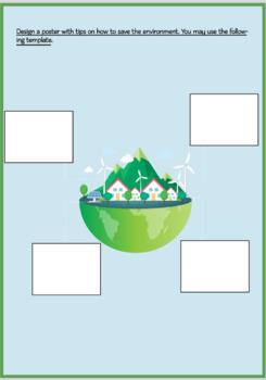 """SPANISH UNIT WORKBOOK """"El Medio Ambiente"""""""