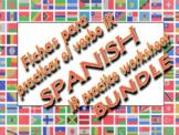 """SPANISH VERB """"IR"""" PRACTICE WORKSHEET BUNDLE / IR, """"To Go"""""""