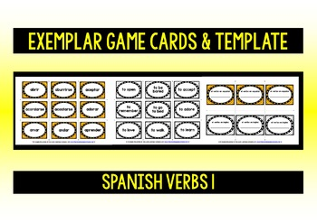 SPANISH VERBS (1) - PRACTICE & REVISION PACK - 99 VERBS
