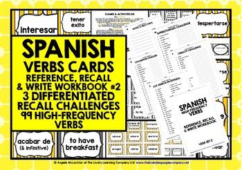 SPANISH VERBS PRACTICE & REVISION 99 VERBS (2)