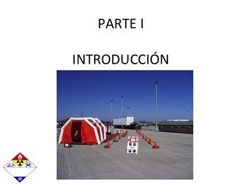 SPANISH VERSION DECONTAMINATION HAZMAT TECHNICIAN HAZARDOUS MATERIALS