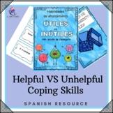 SPANISH VERSION - HELPFUL vs UNHELPFUL Coping Skills - Counseling Mini Lesson