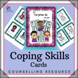 SPANISH VERSION - My Coping Skills Cards & Posters - behavior, activities