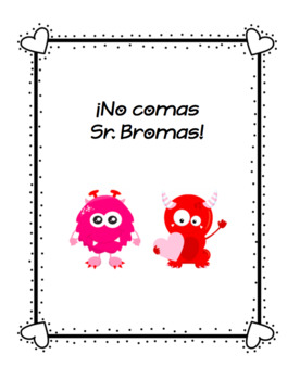 SPANISH Valentines Games and Activities