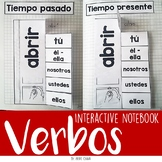 SPANISH Verbos regulares e irregulares en español INTERACTIVE NOTEBOOK