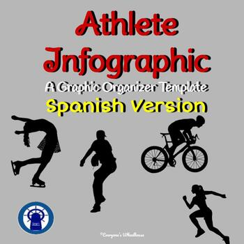 SPANISH Version Athlete Infographic Template