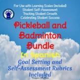 SPANISH Version Badminton Unit and Pickleball Unit Bundle