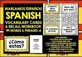 SPANISH VOCABULARY (1) - GAMES & ACTIVITIES