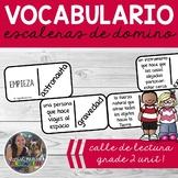 SPANISH Vocabulary Dominoes CENTER - Grade 2 Unit 1