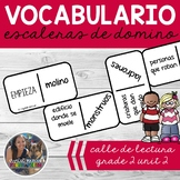 SPANISH Vocabulary Dominoes CENTER - Grade 2 Unit 2