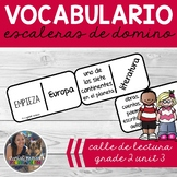 SPANISH Vocabulary Dominoes CENTER - Calle de Lectura Grade 2 Unit 3
