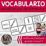 SPANISH Vocabulary Dominoes CENTER - Grade 2 Unit 4