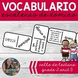 SPANISH Vocabulary Dominoes CENTER - Grade 2 Unit 5
