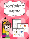 SPANISH Vocabulary Resource & Progress Monitoring Packet f