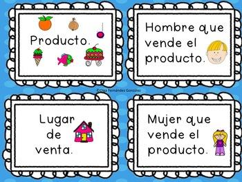 SPANISH WORD FAMILIES CENTER/ CENTRO FAMILIA PALABRAS