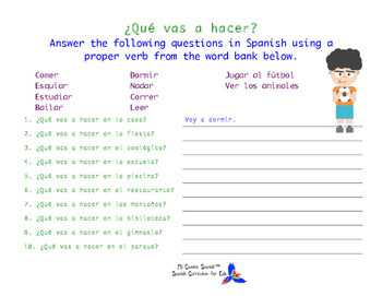 SPANISH WORKSHEETS! - The Simple Future