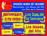 SPANISH WORM SET HEADERS