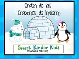 SPANISH Winter Sentence Builders for the SMARTboard - Kindergarten/1st Grade