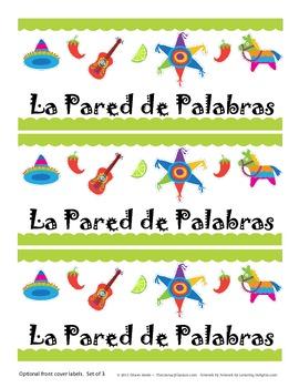 SPANISH {Word Wall} La Pared de Palabras
