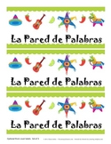 SPANISH {Word Wall} La Pared de Palabras