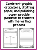 SPANISH Writing Prompts for 2nd - Informational, Narrative, & Opinion BUNDLE