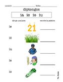 SPANISH diphthongs practice