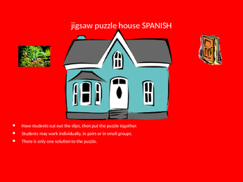 SPANISH house jigsaw puzzle