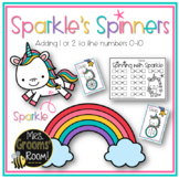 SPARKLE'S SPINNERS: ADDING ONE OR TWO TO NUMBERS 0-10