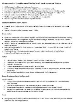 SPARTA- HSC summary