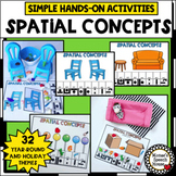 SPATIAL CONCEPTS SPEECH THERAPY PREPOSITIONS EASY LOW PREP