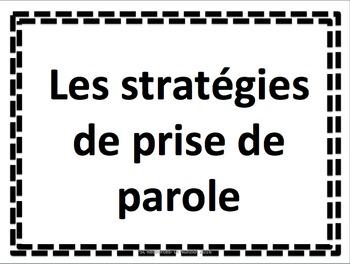 SPEAKING STRATEGIES - FSL