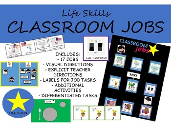 #SPEDCHRISTMAS3 SPECIAL EDUCATION CLASSROOM JOBS