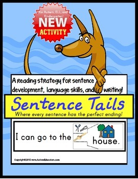 SPECIAL EDUCATION READING STRATEGIES for Sentence Structure/Reading/Writing
