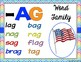 SPECIAL EDUCATION* Word Families AG-ASH Variety Packet