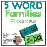 SPECIAL EDUCATION* Word Families Flip Book (A's)