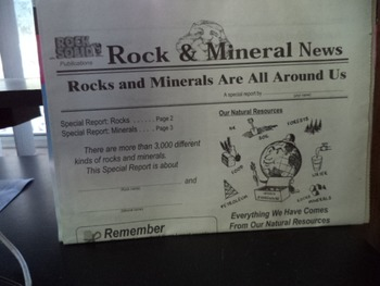 SPECIAL FOR TEACHERS- BOOKMARKS-ROCKS,MIN,MET,&ELEM.