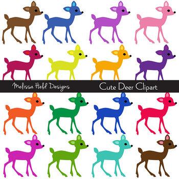 SPECIAL OFFER! Clipart: Cute Deer Clip Art