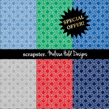 SPECIAL OFFER! Nautical Rope Background Patterns