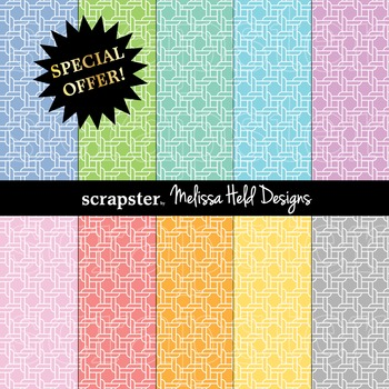 SPECIAL OFFER! Pastel Rope Background Patterns