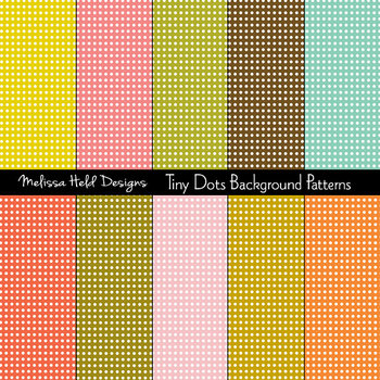 SPECIAL OFFER! Tiny Dot Background Patterns