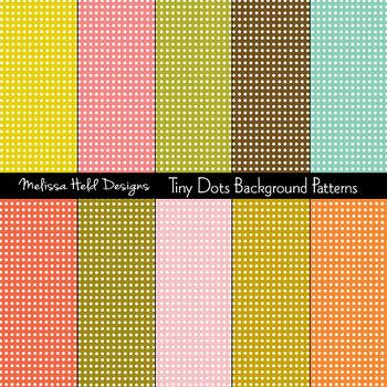 Tiny Dots Background Patterns