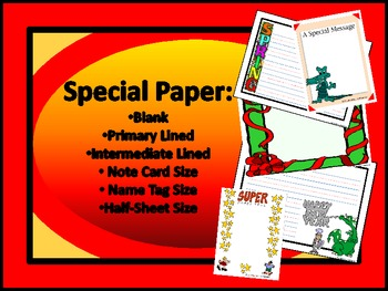 WRITING PAPER - OVER 40 PRINTABLES