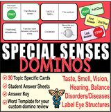SPECIAL SENSES ~DOMINO REVIEW~ 30 Cards + Answer Sheets+Ke