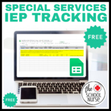SPECIAL SERVICES, IEP- Tracking Sheet : Google