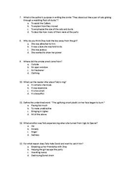 """SPECIALS""  DIFFICULT MC CHAPTER QUESTIONS"