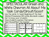 All About Me Task Cards/Circuit/Scoot