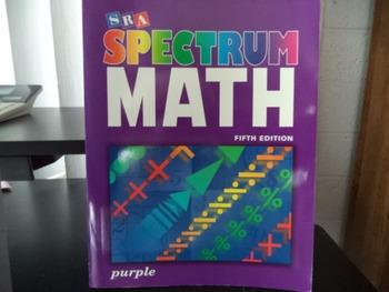SPECTRUM MATH  ISBN0-07-5723437 9