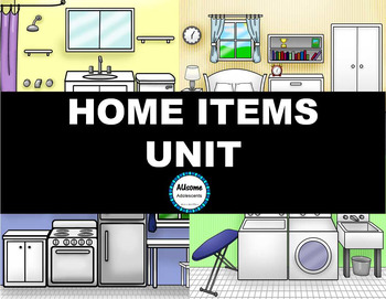 SPED/AUTISM Home Items Unit