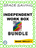 SPED/AUTISM WORK TASK BUNDLE- Basic Skills Edition
