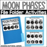 SPED File Folders: Moon Phases
